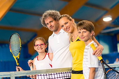 tennis famiglia