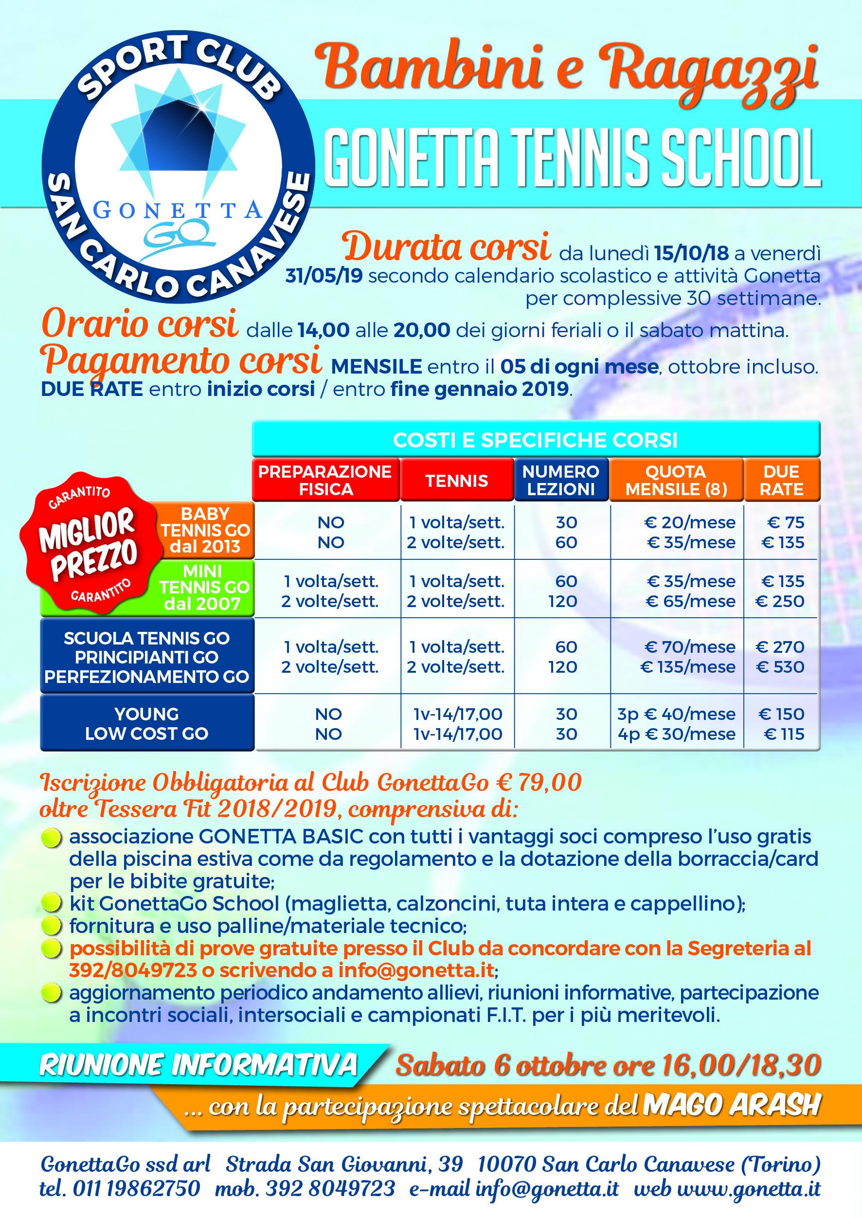Flyer scheda Corsi Tennis-1
