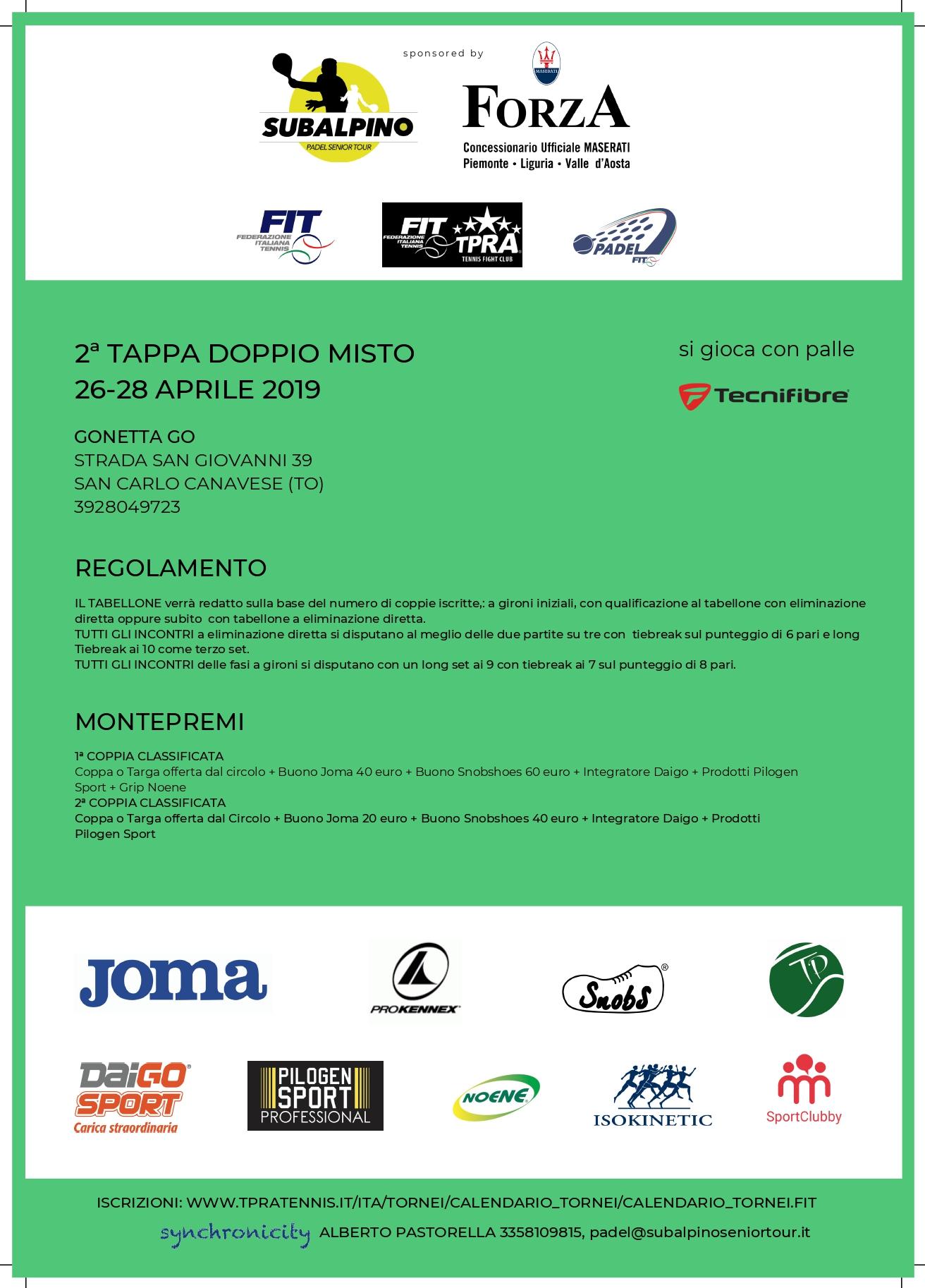 Fit Calendario Tornei.Padel Tpra Over 35 Circuito Sabaudo Gonetta Sport Resort