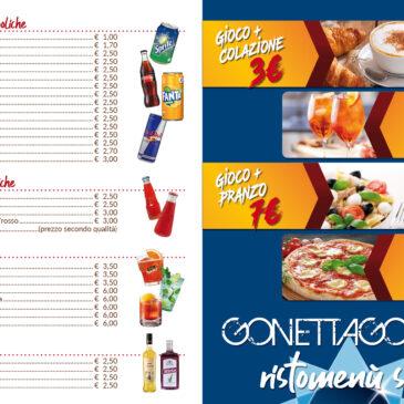 Listino Bar Gonetta