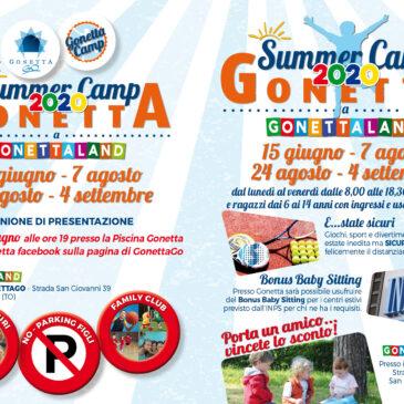 Gonetta Summer Camp 2020