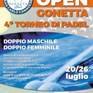 Open FIT Padel Luglio 2020