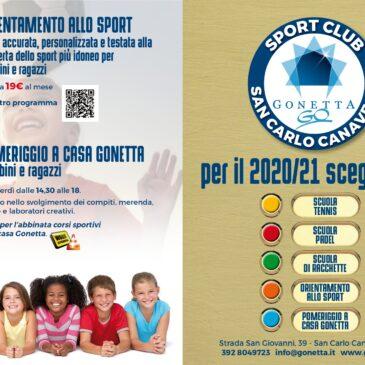 Scuola Gonetta 2020-2021