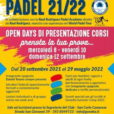 Gonetta Padel School 2021-2022