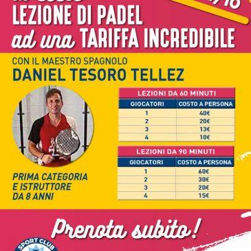 Lezioni private maestro spagnolo Daniel