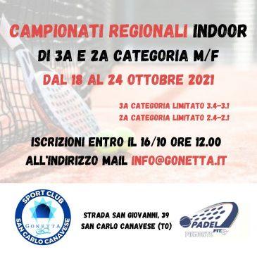 Regionali indoor Padel 2021